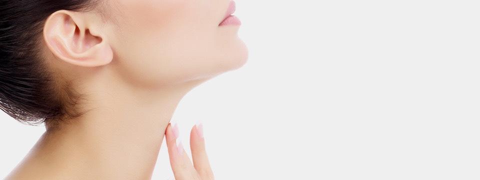 chirurgie du cou menton
